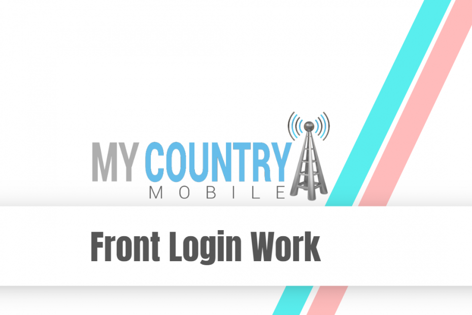 Front Login Work - My Country Mobile